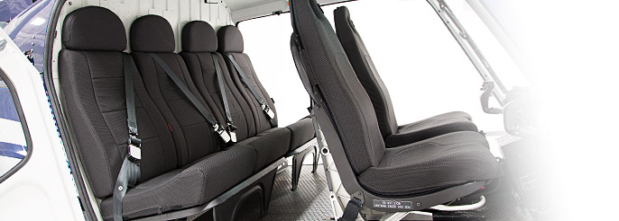 HC-400-RHR Rear Headrests for AS350 / H125
