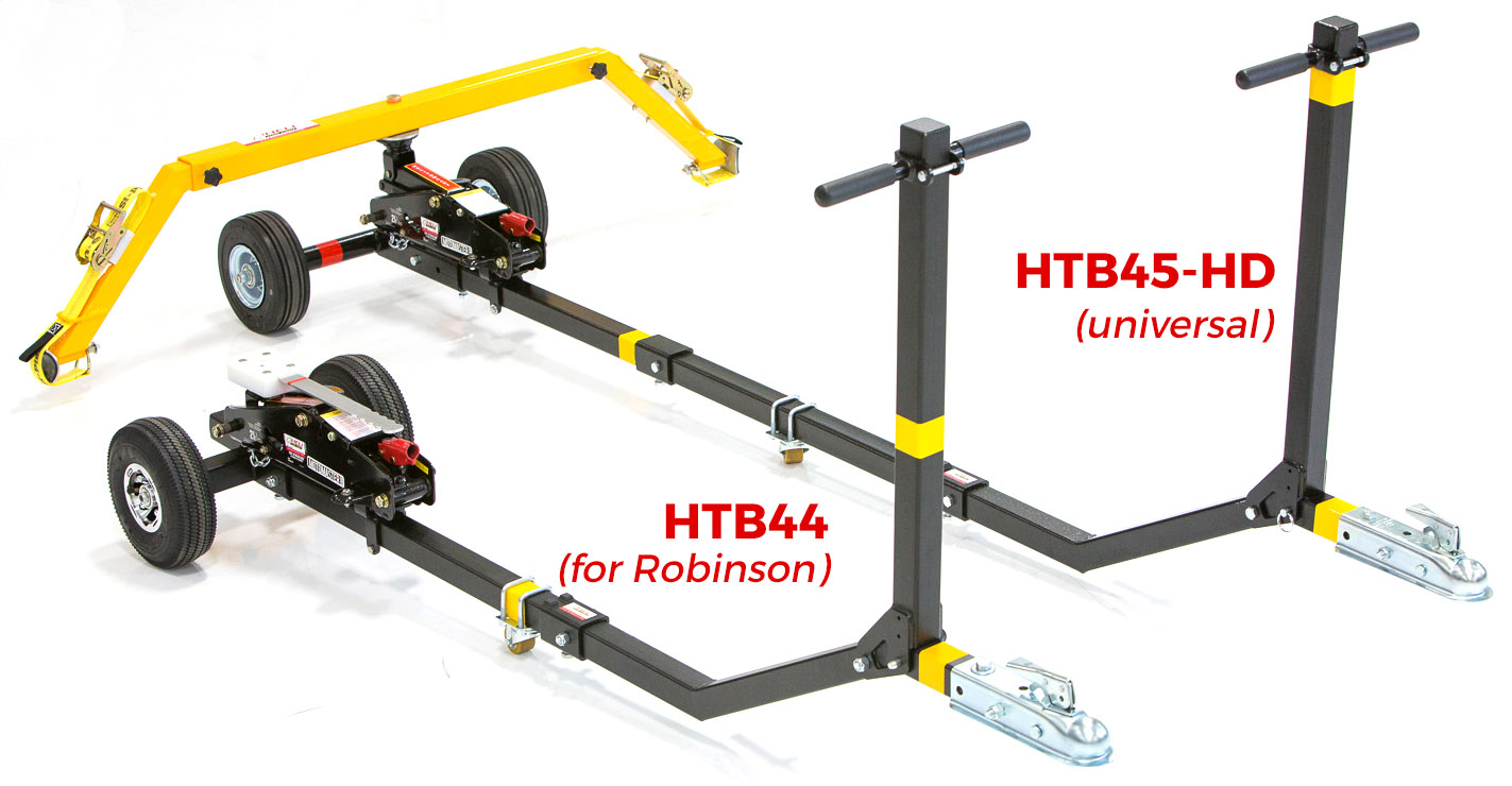 HTB44 Towbar (LEFT) and HTB45-HD Towbar (RIGHT)