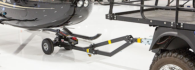 Helicopter Towbar with R44