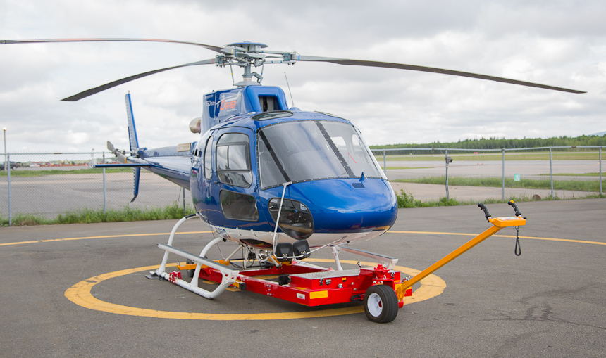 Carrier V1022 with EMS AS350/H125
