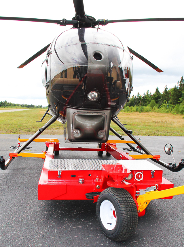 HeliCarrier is ideal for POD equiped MD500